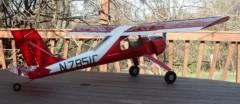PZL-104 Wilga 80 model airplane plan