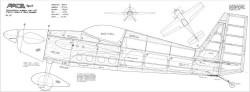 Pace Spirit model airplane plan