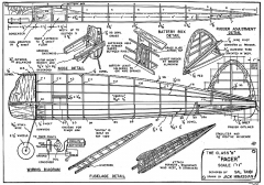 Pacer B MAN-1941 model airplane plan