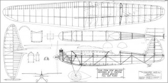 Pacific Ace model airplane plan