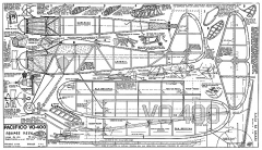 Pacifico VO-400 model airplane plan