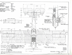 Packard-Le Pere LUSAC-2 model airplane plan