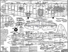 Panther model airplane plan