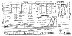 Paradox RCM-1225 model airplane plan