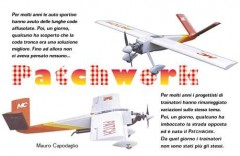 Patchwork model airplane plan