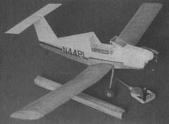 Pazmany PL-4A model airplane plan