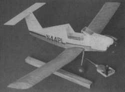 Pazmany PL-4A model airplane plan