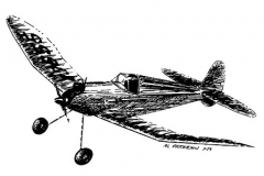 Peerless Panther model airplane plan