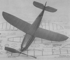 Pegna PC 1 model airplane plan