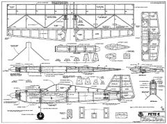 Pete-E-RCM-1345 model airplane plan