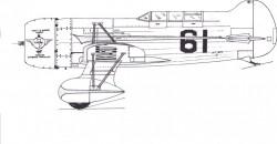 gee bee QED model airplane plan