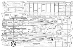 Petite Parasol 42in model airplane plan