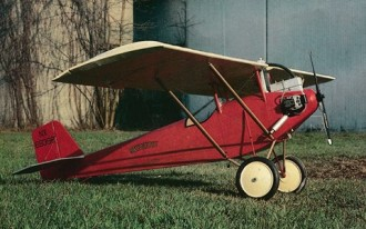 Pietenpol model airplane plan