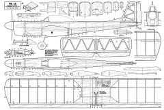 Pik As RC model airplane plan