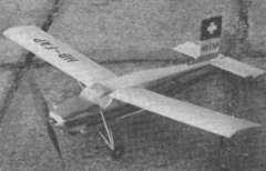 Pilatus P-6 Porter model airplane plan