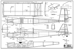 Pinata RCM-391 model airplane plan