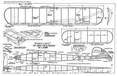 Pinocchio Rubber model airplane plan