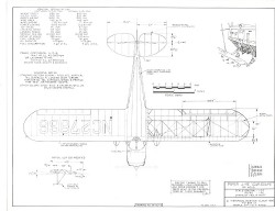 Piper J-4E Cub Coupe model airplane plan