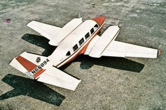 Piper Navajo model airplane plan