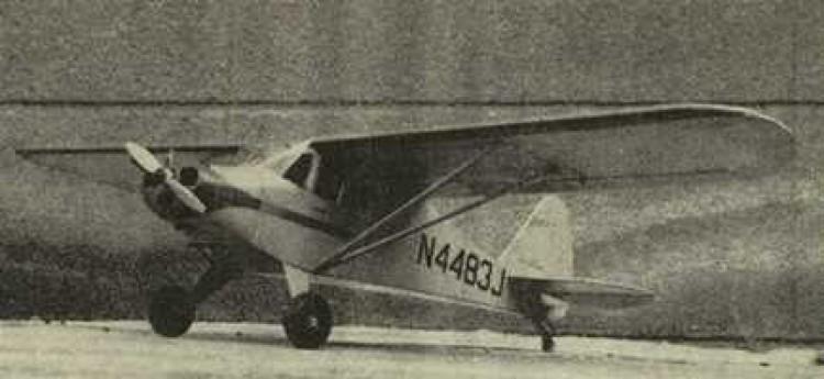 Piper PA-15 Vagabound model airplane plan