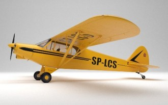 Piper PA-18 model airplane plan