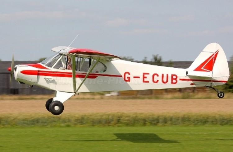 Piper PA 18 Super Cub model airplane plan