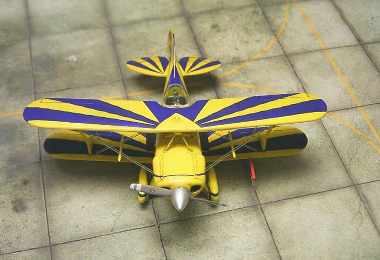 Pitts Special S-2 Big Stinker model airplane plan