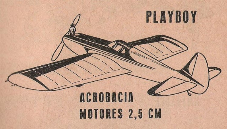 Playboy model airplane plan