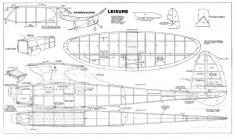 Playboy Senior Leisure model airplane plan