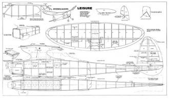 Playboy Senior Leisure model airplane plan