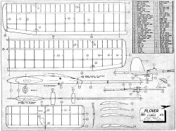 Plover model airplane plan