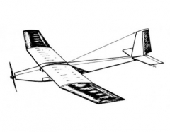 Plus 7 model airplane plan