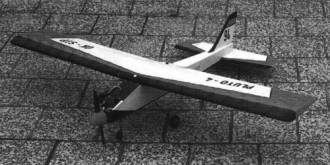 Pluto 4 model airplane plan