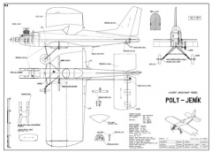 Poly - Jenik model airplane plan