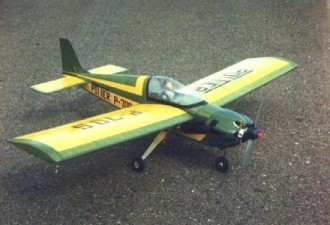 Pottier P-70S model airplane plan