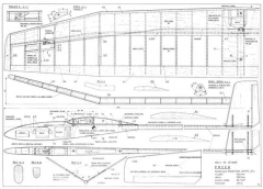 Prcek model airplane plan
