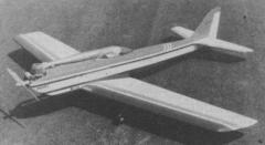 Presto 2 model airplane plan