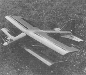 Pretty model airplane plan