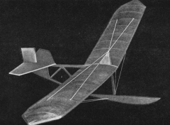Primary Glider model airplane plan