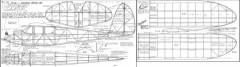 Quaker 1936 model airplane plan