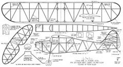 Quark 20in model airplane plan