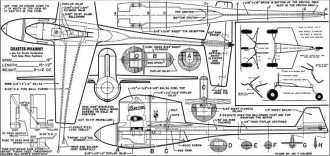 Quarter Whammy, 12in (30.5cm) model airplane plan