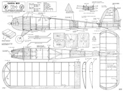 Queen Bee, 48in (122cm) model airplane plan