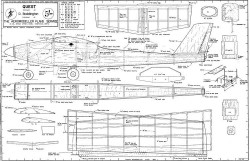 Quest, 38in (97cm) model airplane plan