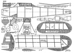 Quickie 1941 model airplane plan