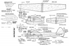 Quickie Trainer C/L Speed model airplane plan