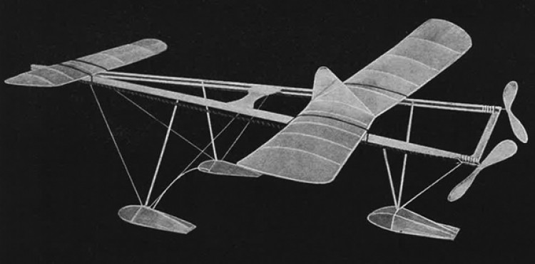 R.O.W. model airplane plan