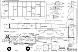 RCM Trainer 60 model airplane plan