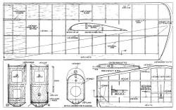 RC Roamer model airplane plan