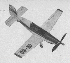 Racek model airplane plan